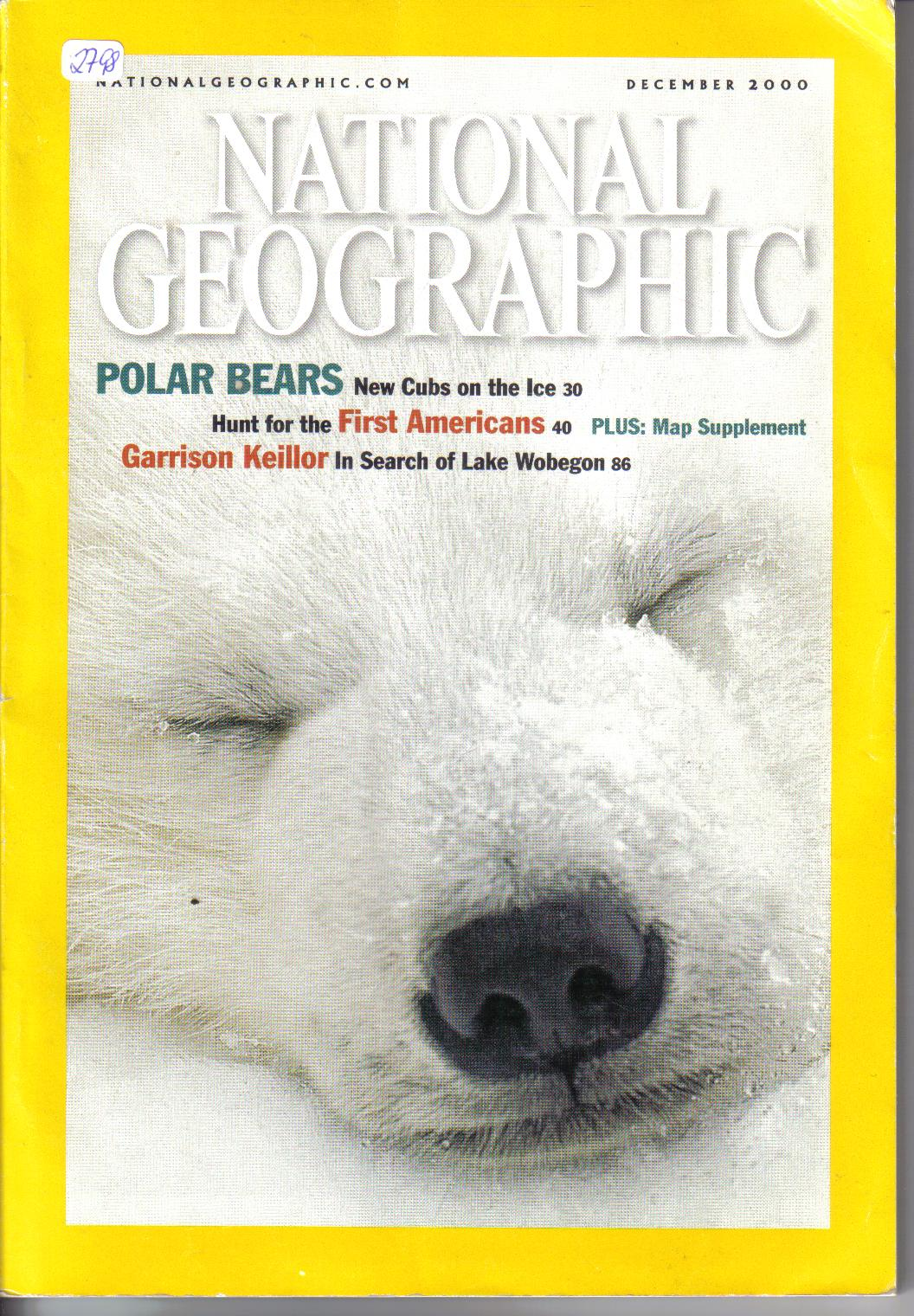 National Geographic    december 2000