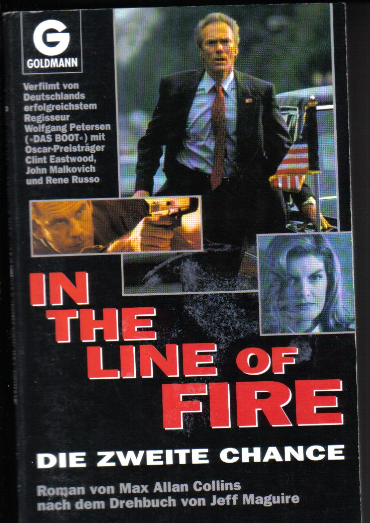 IN THE LINE OF FIREDie zweite ChanceMax Allan Collins