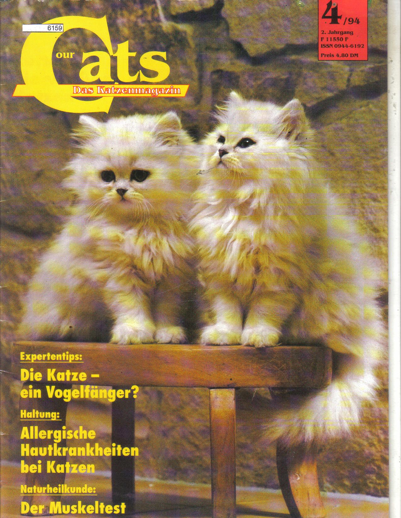 our Cats    4 /94